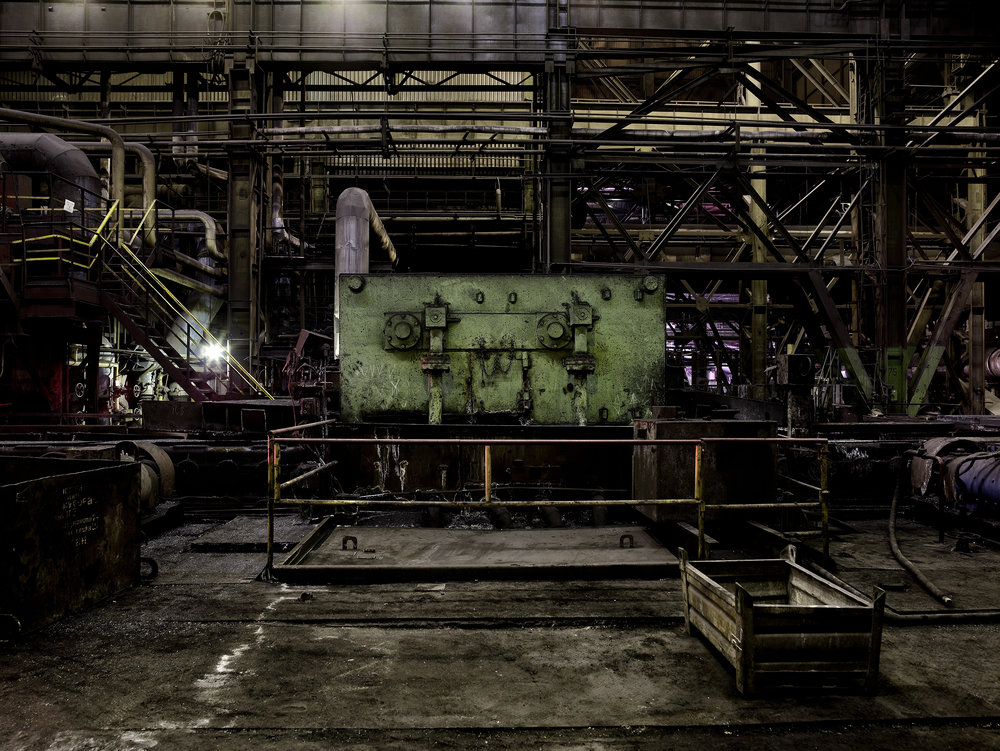 Steel mill 5, Ukraine, 2007.