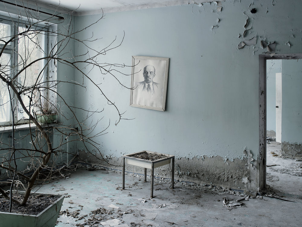 Waiting room, Prypiat, Ukraine, 2007.
