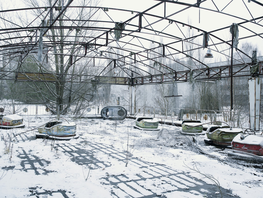 Bumper cars, Prypiat, Ukraine, 2007.