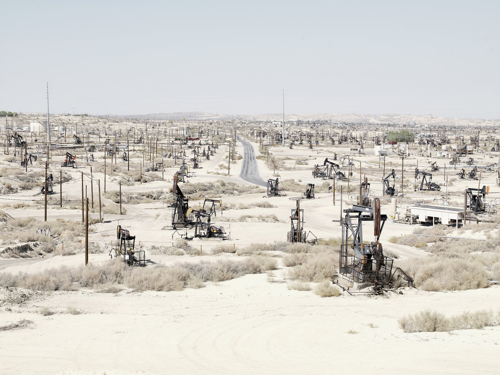 Petroleum field 1, USA, 2007.