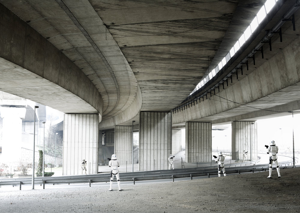 Stormtroopers Under Bridge. 2005