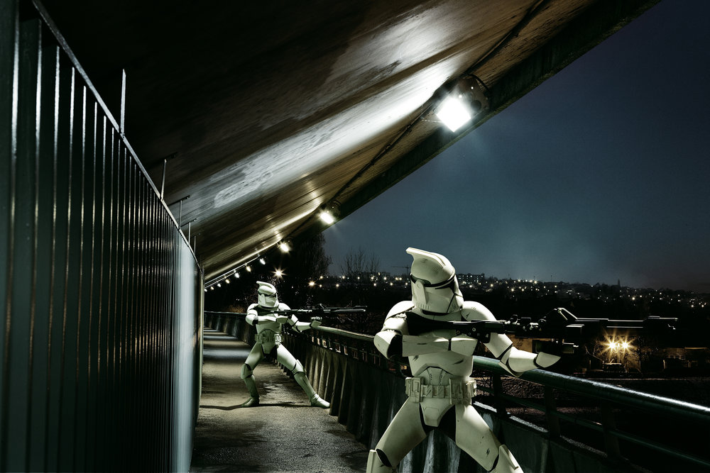 Two Clonetroopers. 2005