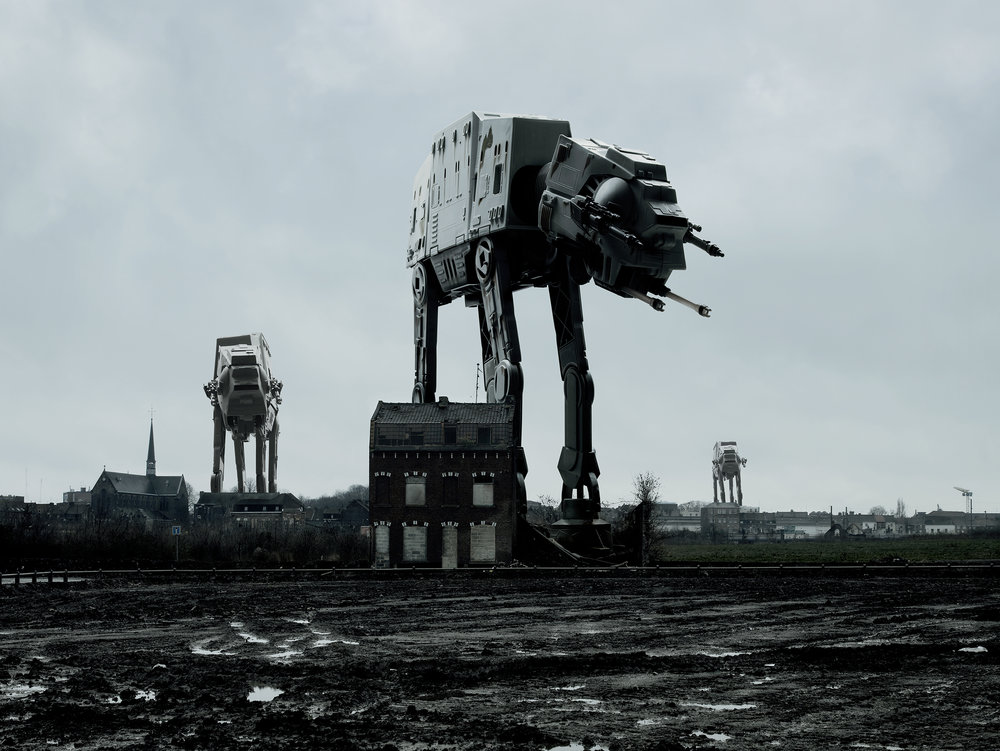 Three AT-AT. 2007