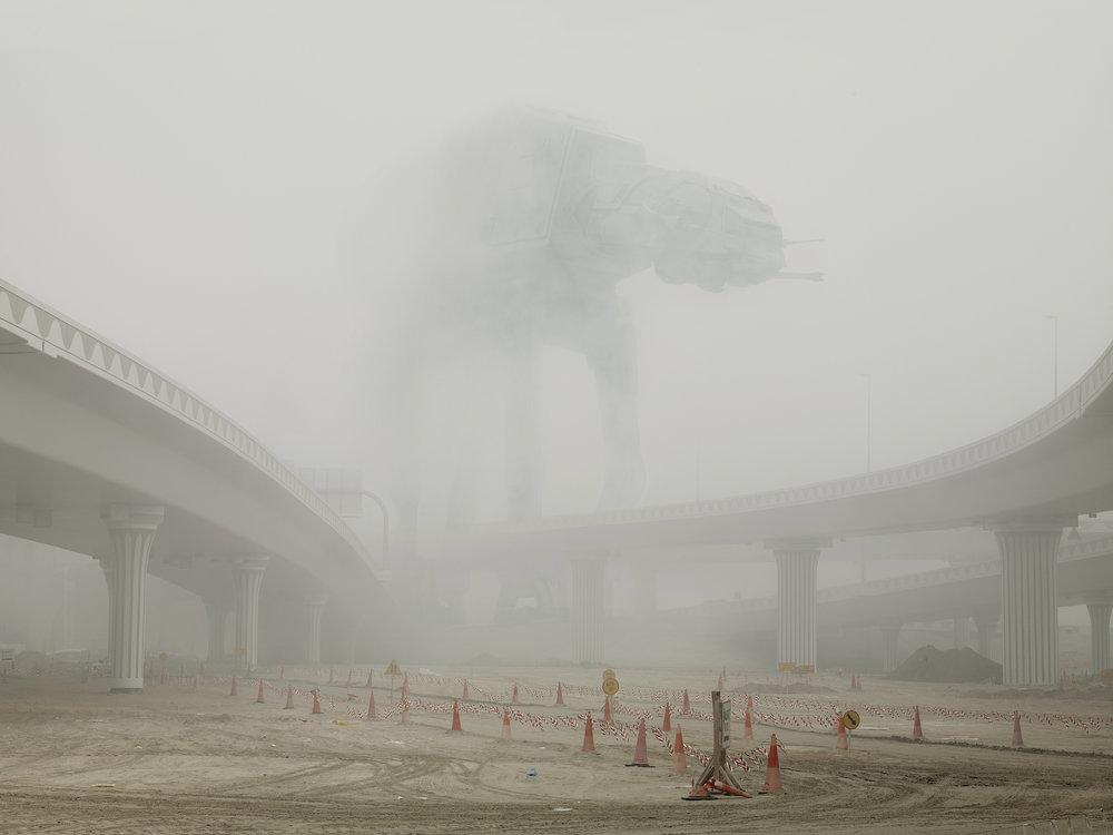 AT-AT Under Fog. 2009