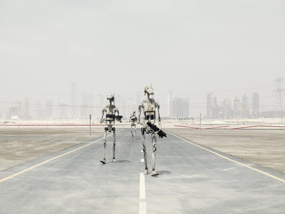 Battles droid's round. 2009