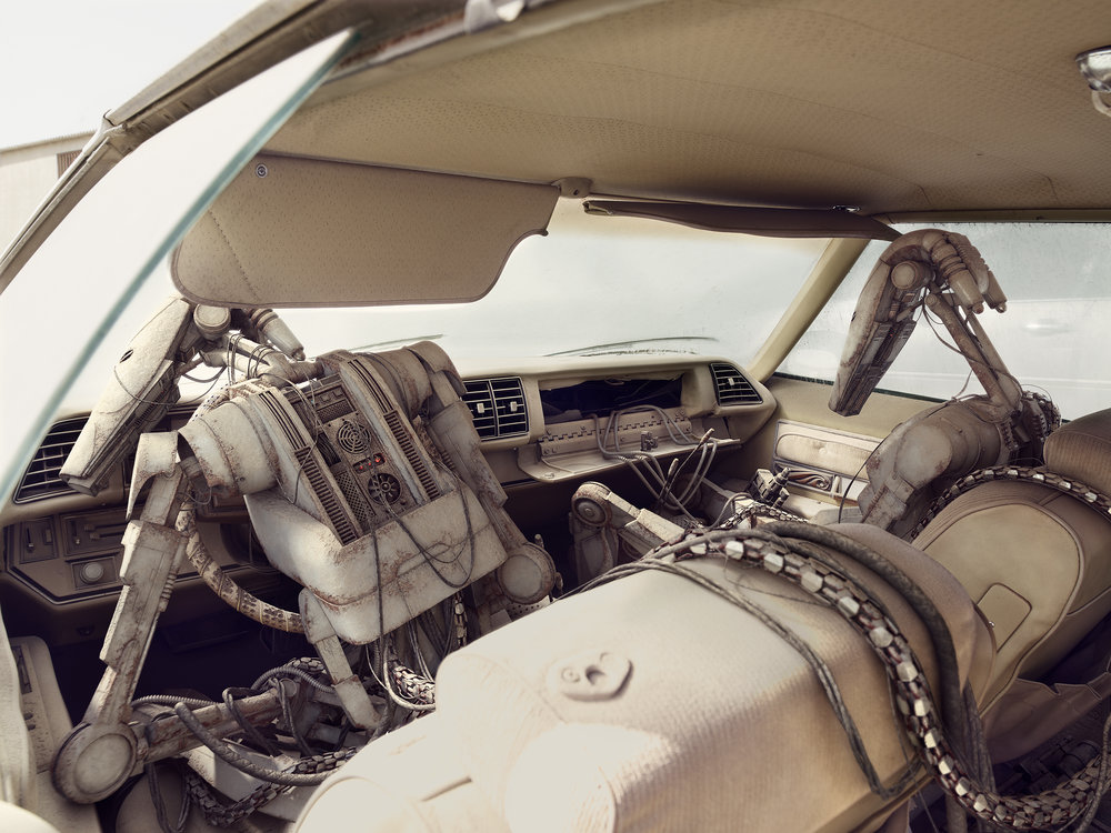 Inside The Buick. 2009