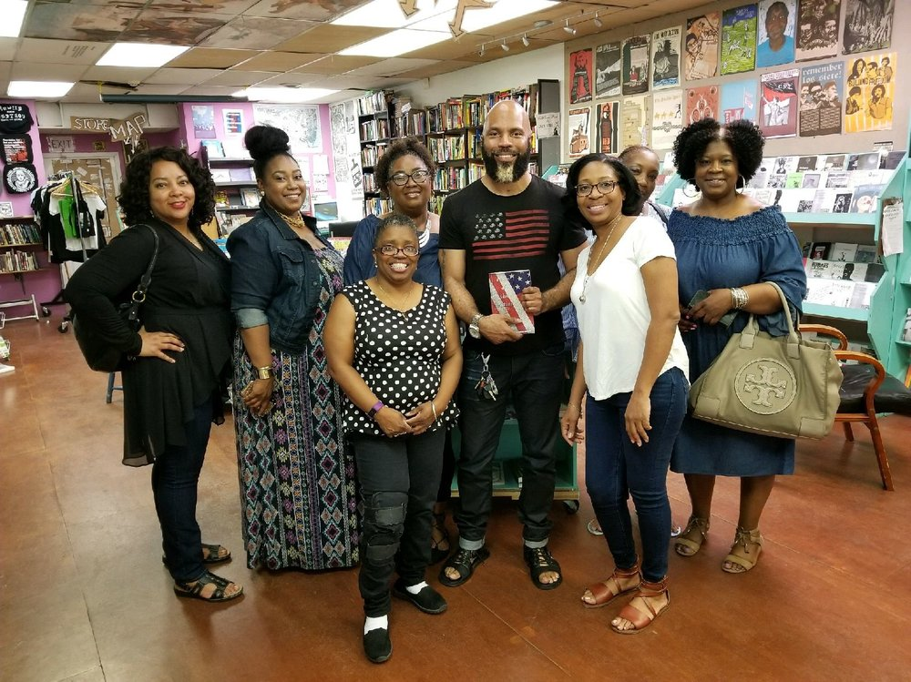 book launch at wooden shoe books Philadelphia