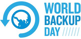 - 31/3/2018 - World Backup Day