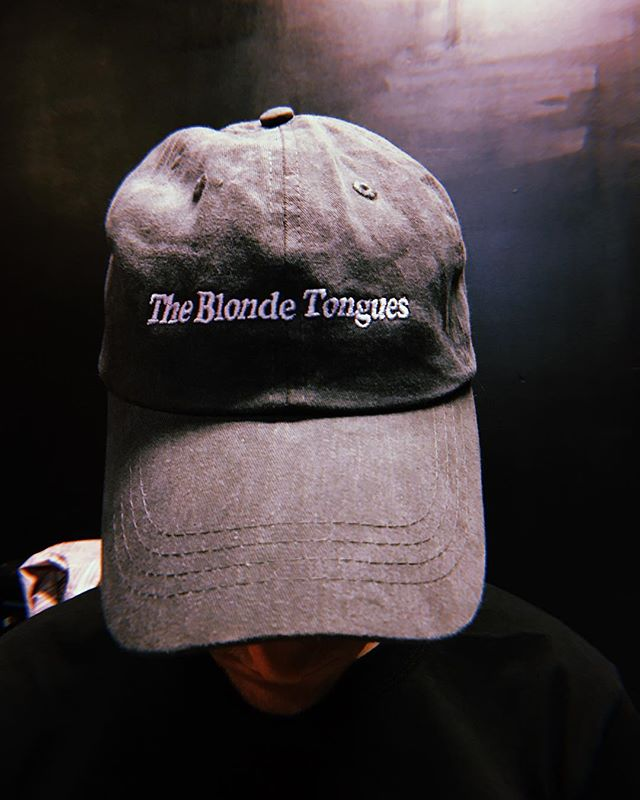 NEW HATS! theblondetongues.com/merch