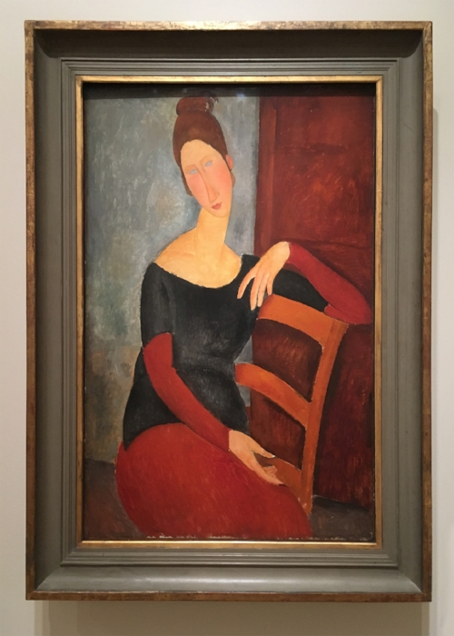 Amedeo Modigliani, Portrait of the Artist's Wife, 1918