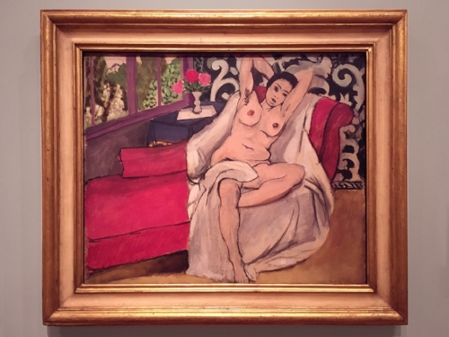 Henri Matisse, Nude on a Sofa, 1923