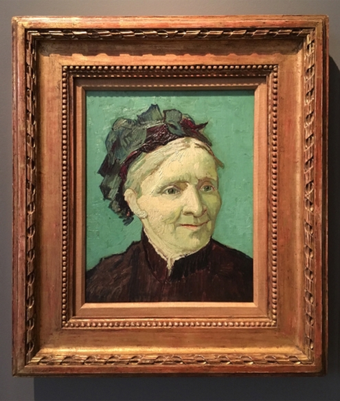 Vincent Van Gogh, Portrait of the Artist's Mother, 1888