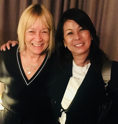 Cindy Gallop, 58 & Susan Colby, 62