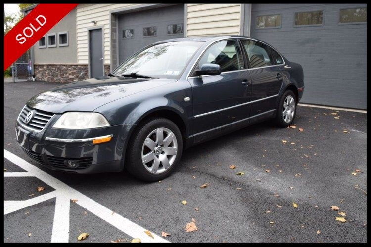 SOLD - 2001 VW Passat GLX V6 4MotionBlue Anthracite Pearl on BlackVIN: WVWTH63B11E158549