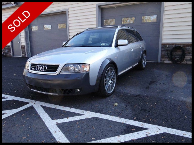 SOLD - 2001 Audi AllroadLight Silver Metallic on BlackVIN: WAUYP54B81N139138