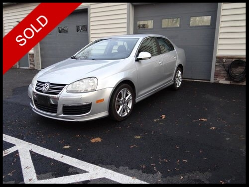 SOLD - 2007 VW Jetta 2.5Reflex Silver on BlackVIN: 3VWJF81K57M027183