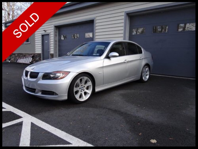 SOLD - 2006 BMW 330iArctic Silver on BlackVIN: WBAVB33506AZ86672