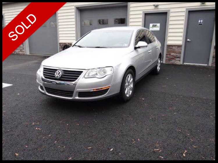 SOLD - 2008 VW Passat TurboReflex Silver on BlackVIN: WVWJK73C08E108727