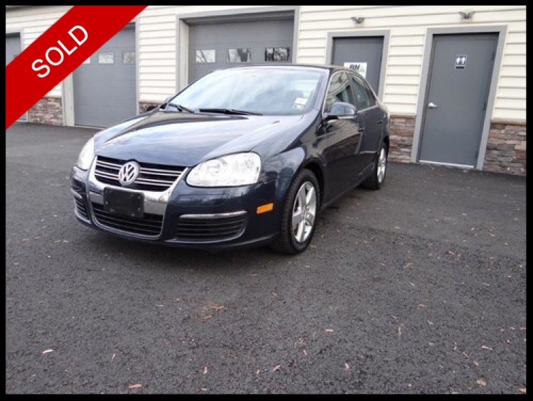 SOLD - 2008 VW Jetta SE 2.5Blue Graphite Metallic on BlackVIN: 3VWRZ71K78M116095
