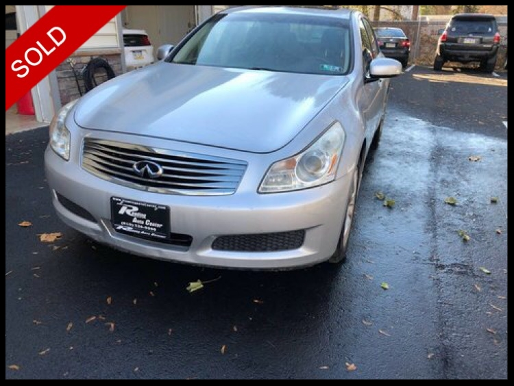 SOLD - 2008 Infinity G35xLiquid Platinum Silver on BlackVIN: JNKBV61F28M260595
