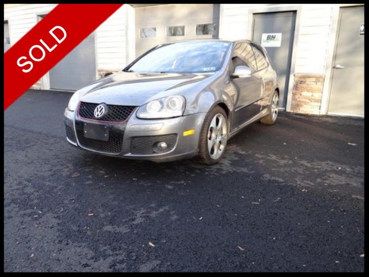 SOLD - 2008 VW GTiUnited Gray Metallic on PlaidVIN: WVWEV71K58W332444