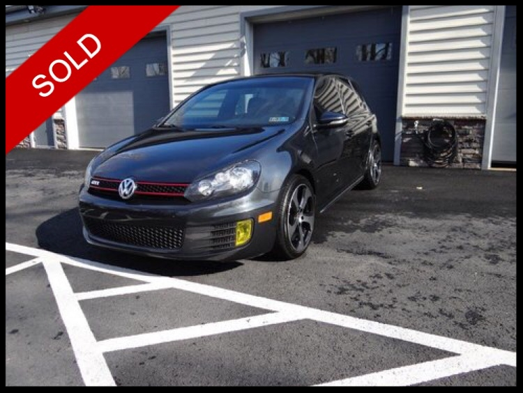 SOLD - 2012 VW GTi - UnitronicCarbon Steel Gray Metallic on PlaidVIN: WVWHV7AJ8CW137130