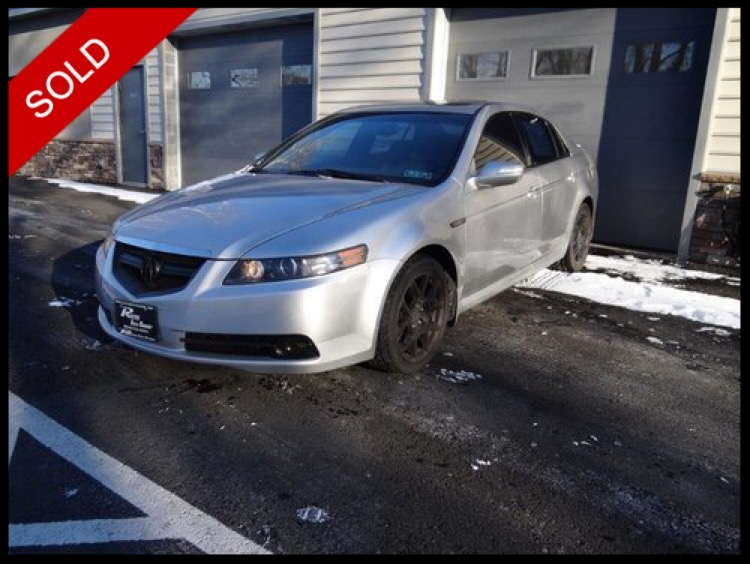 SOLD - 2008 Acura TL Type-SAlabaster Silver Metallic on BlackVIN: 19UUA76508A008312