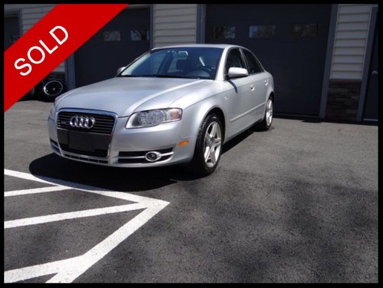 SOLD - 2007 Audi A4 QuattroLight Silver Metallic on BlackVIN: WAUDF78E87A266683