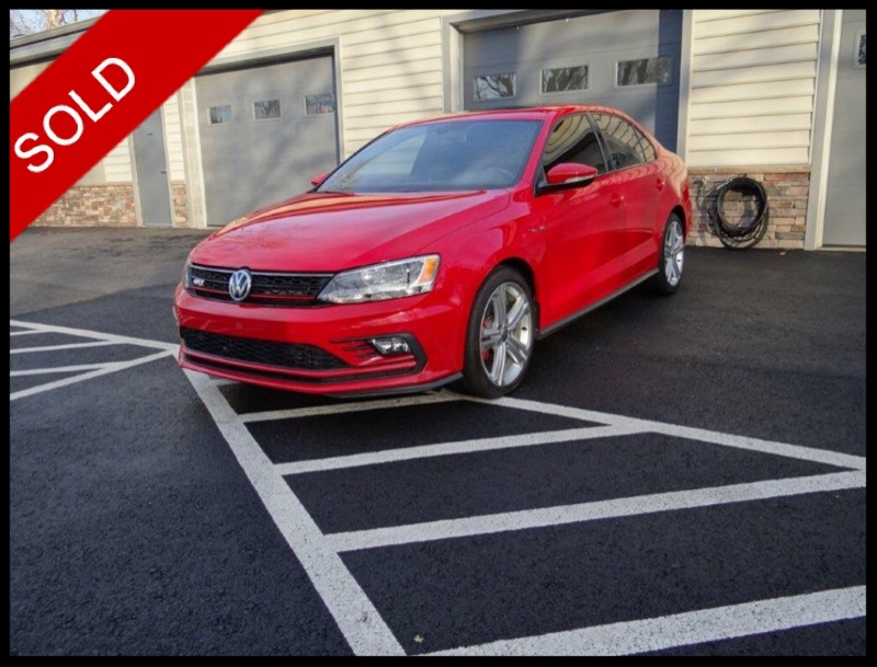 SOLD - 2016 VW Jetta GLiTornado Red on BlackVIN: 3VW5T7AJ5GM384293