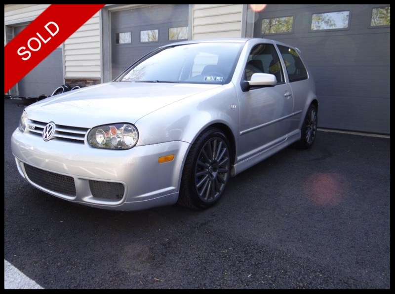 SOLD - 2004 VW R32Reflex Silver on BlackVIN: WVWKG61J84D133506