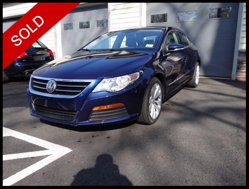 SOLD - 2011 Volkswagen CC SportShadow Blue Metallic on Black/TanVIN: WVWNP7AN9BE722013
