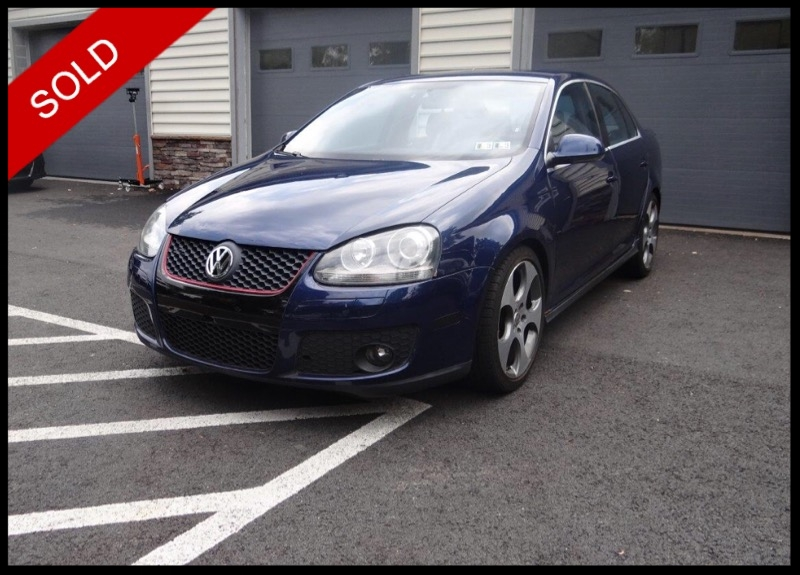 SOLD - 2006 VW Jetta GLIShadow Blue on PlaidVIN: 3VWWJ71K56M768138