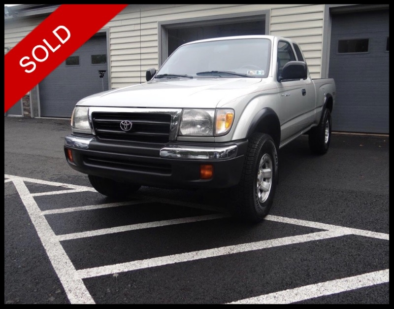 SOLD - 2000 Toyota Tacoma TRD Off-RoadLunar Mist Metallic on GreyVIN: 4TAWN72N2YZ609719