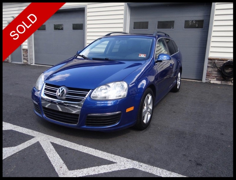 SOLD - 2009 VW Jetta SE SportwagenLaser Blue on GreyVIN: 3VWTZ71KX9M273644