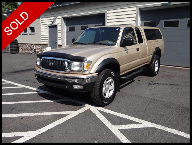 SOLD - 2004 Toyota Tacoma SR5Mystic Gold Metallic on TanVIN: 5TEWM72NX4Z310503