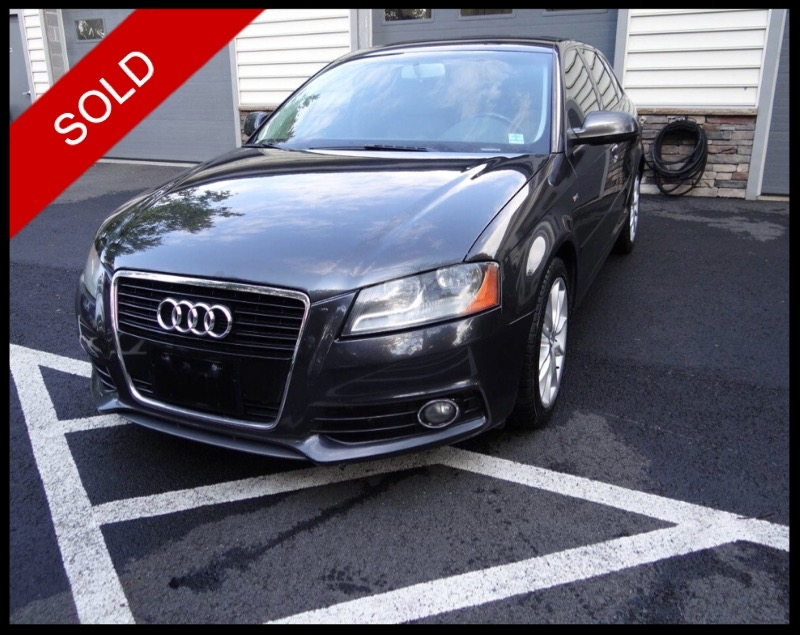 SOLD - 2011 Audi A3 2.0tLava Gray Pearl Effect on TanVIN: WAUBFAFM3BA109960