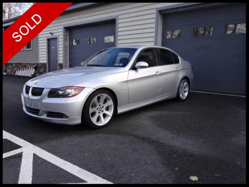 SOLD - 2006 BMW 330i - 6 SpeedArctic Silver on BlackVIN: WBAVB33506AZ86672