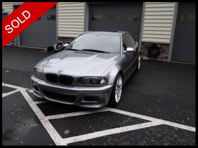 SOLD - Make: BMW Model: M3Mileage: 87,152 miExterior Color: Silver Grey MetallicInterior Color: BlackTransmission: SMGEngine: 3.2 LDrivetrain: RWDVIN: WBSBL93454JR24736