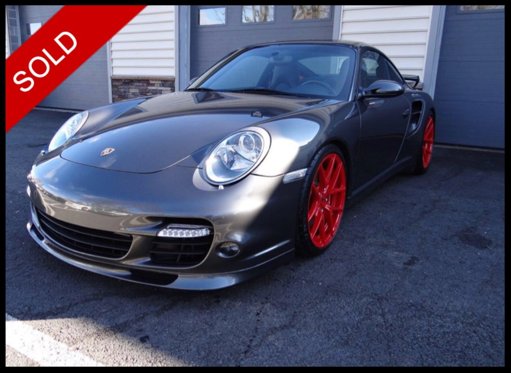SOLD - 2009 Porsche 911 TurboAtlas Grey on Dark GreyVIN: WP0AD299X9S766261