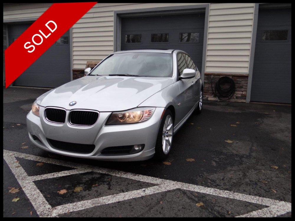 SOLD - 2009 BMW 328iTitanium Silver on BlackVIN: WBAPH77539NL85696