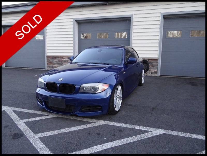SOLD - 2012 BMW 135i M-SportLeMans Blue on BlackVIN: WBAUC9C53CVM12194