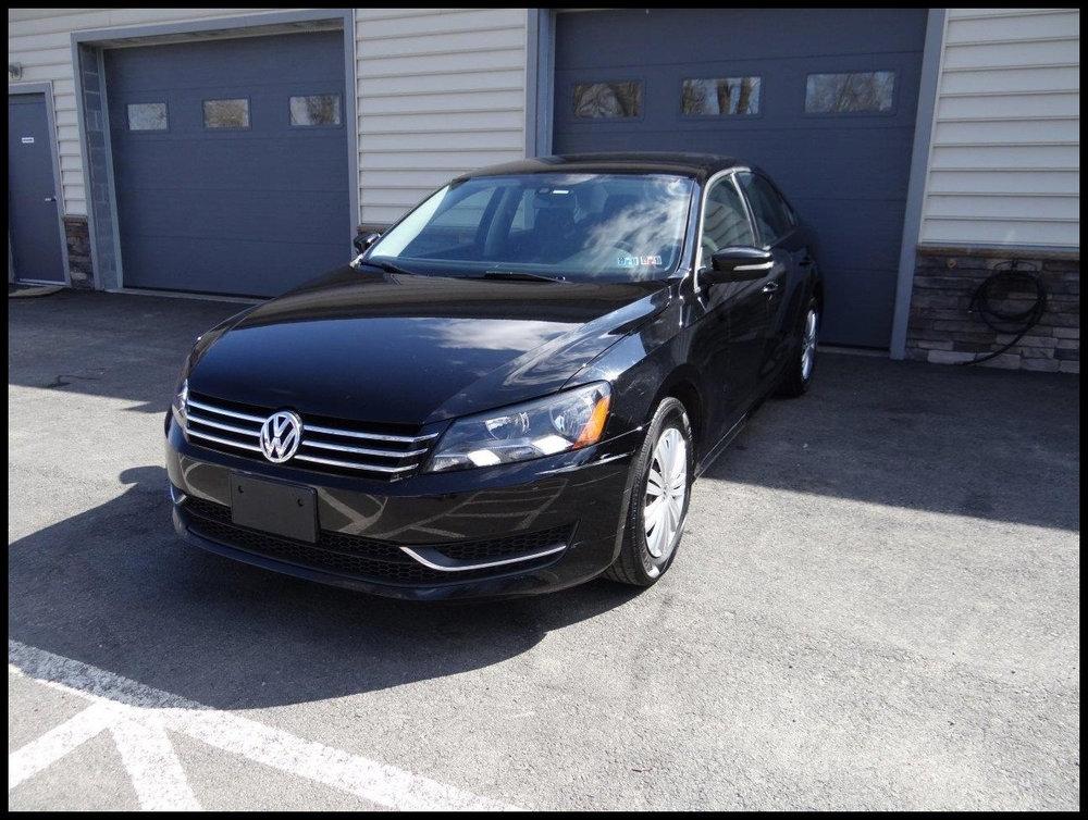$9,000  - Make: VW Model: PassatMileage: 69,177 miExterior Color: BlackInterior Color: BlackTransmission: AutoEngine: 1.8 LDrivetrain: FWDVIN: 1VWAT7A31EC059980