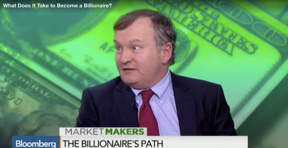 "Bloomberg: ""What Does It Take to Become a Billionaire?"""