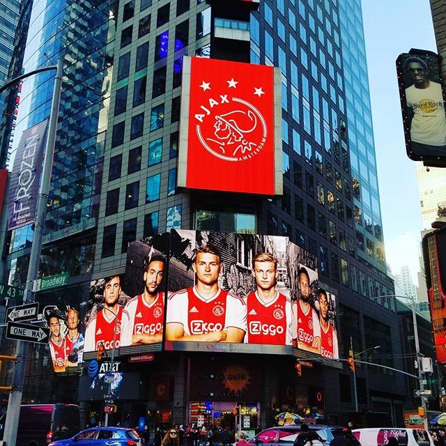 Ajax goes USA #ajax #ajaxamsterdam #dreamscometrue #football