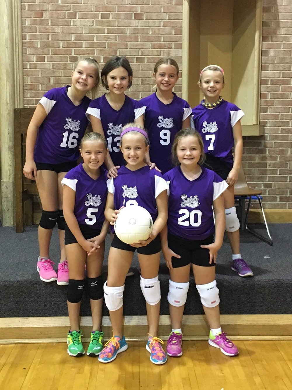Our Lady of Grace School Volleyball