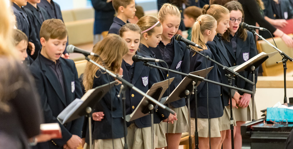 Our Lady of Grace School Choir