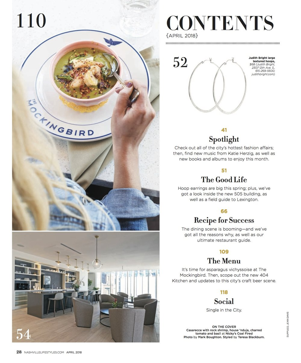Jenn Davis Food Photographer Nashville Lifestyles Mockingbird