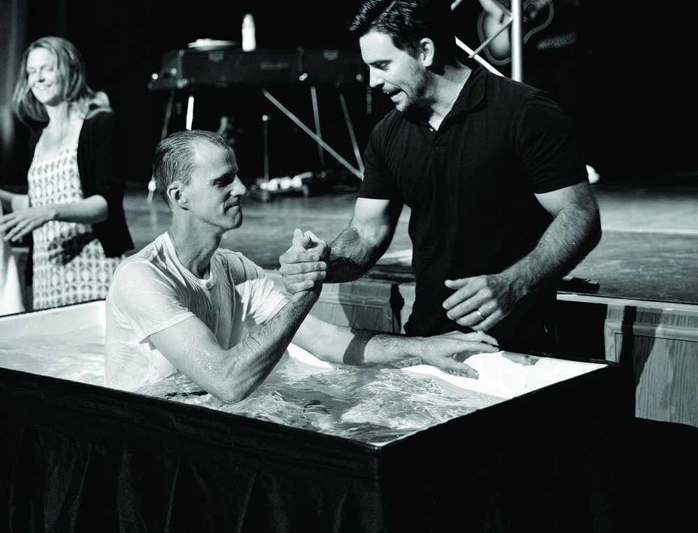 WANT TO BE BAPTIZED? - Learn more about how you can be baptized. Email us at the link below and let us know you would like to be baptized.