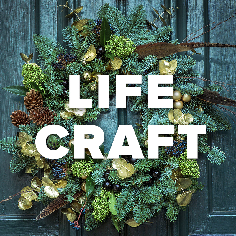 lifecraft decorating with greens - Bay Area Christmas Events