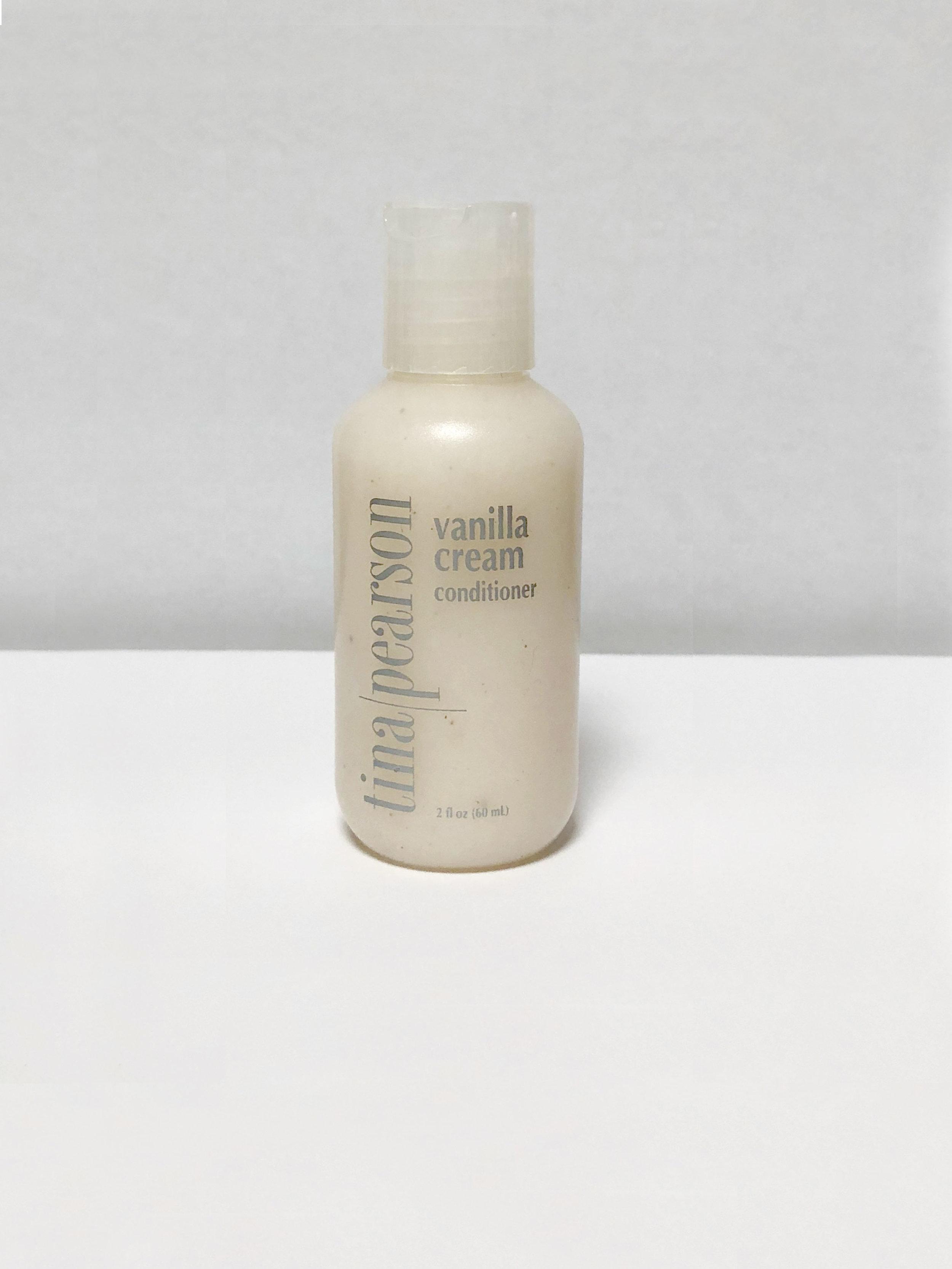 travel size vanilla cream conditioner — Tina Pearson Salon